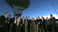 ESA's DSA 3 tracking station inauguration on 18 December 2012