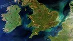 [5/6] A rare cloud-free view of Ireland, Great Britain and northern France