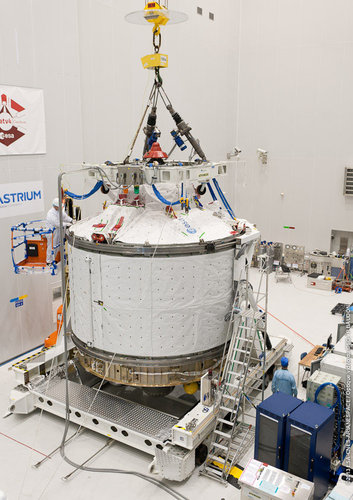 ATV-4 ready to be lifted