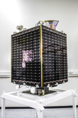 Completed Proba-V satellite