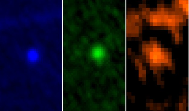 ESA's Herschel rumteleskops billeder af asteroiden Apophis