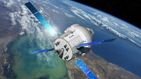 NASA's Orion spacecraft seen during Exploration Mission 1, expected in the late 2010s, will carry astronauts further into space than ever before using the European Service Module, developed on the heritage of ESA's Automated Transfer Vehicles (ATV).