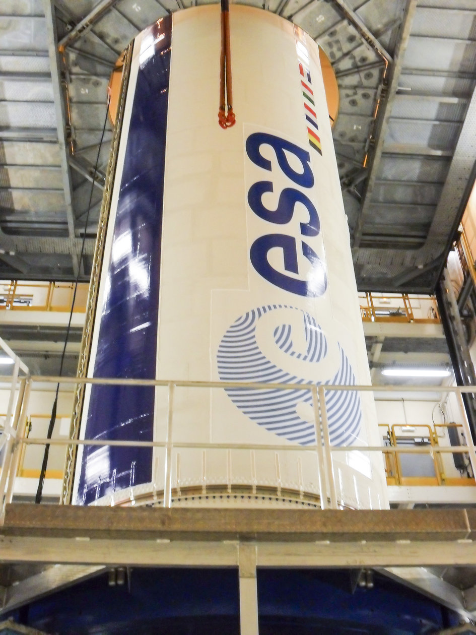 Vega first stage ready