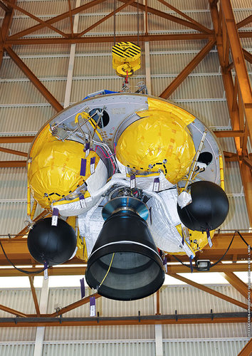 ATV-4 Final stage (EPS) unloaded in Kourou