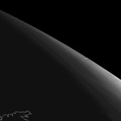 Chelyabinsk asteroid vapour trail seen by Meteosat