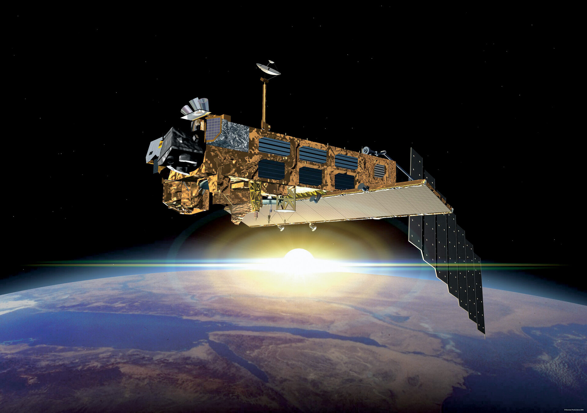 Data from the Envisat satellite was used in the demonstration phase of the project