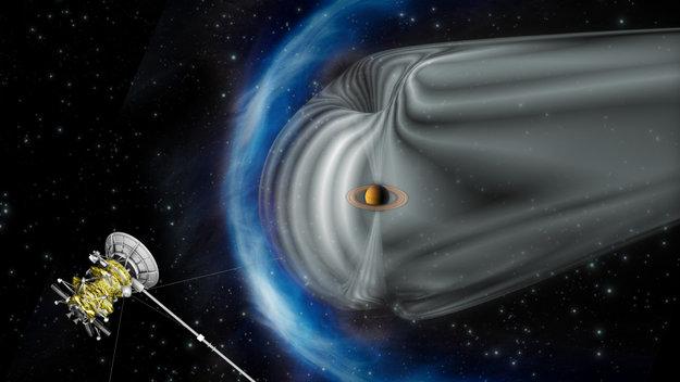 Saturns magnetosphere cassini huygens space science our saturns magnetosphere thecheapjerseys Images