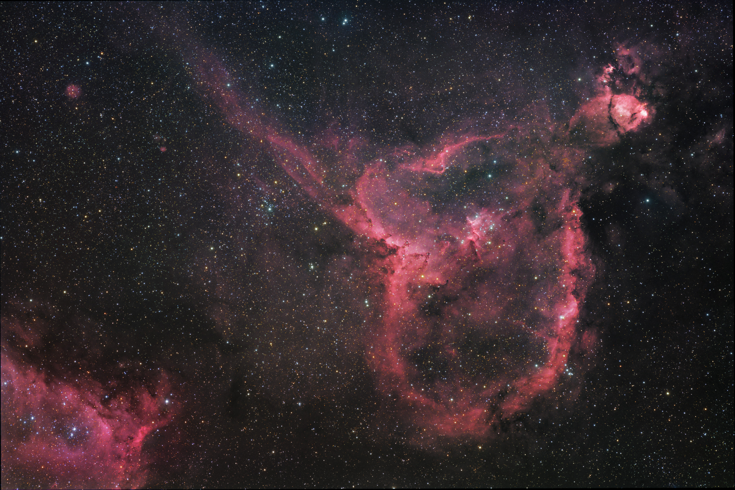 Space in Images - 2013 - 02 - The Heart nebula
