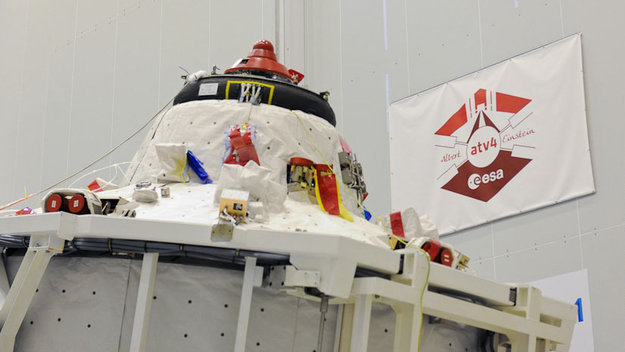 ATV-4 scheduled for June liftoff / ATV / Human Spaceflight ...