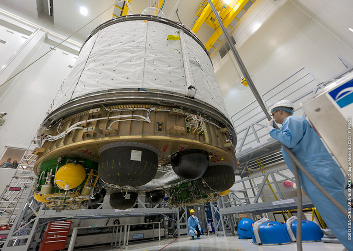 ATV-4 preparations at Europe's Spaceport