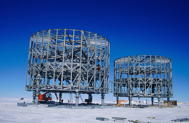 Concordia structure under construction