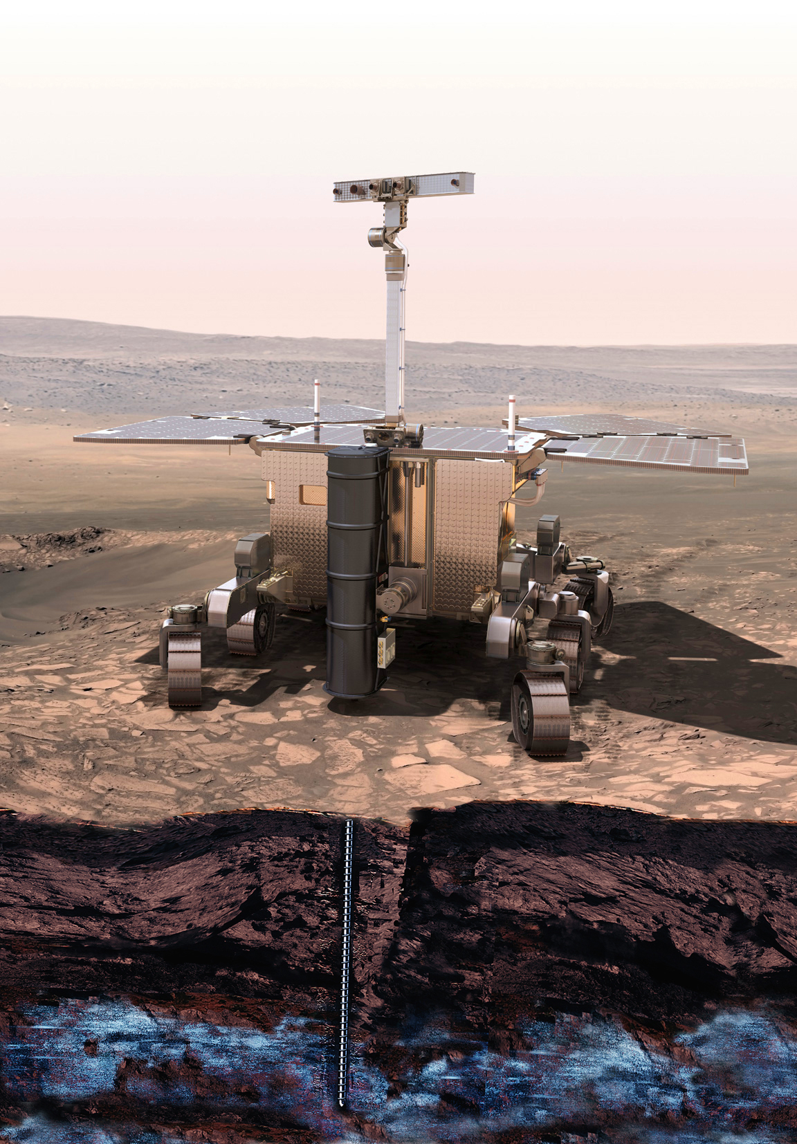 Space in Images - 2013 - 03 - ExoMars rover