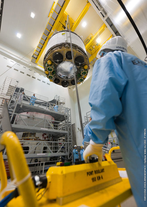 Space in Images - 2013 - 03 - Joining ATV-4