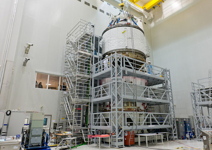 ATV-4 undergoes re-mating at CSG