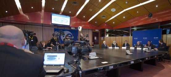 Media briefing on the first cosmology data release from ESA's Planck mission
