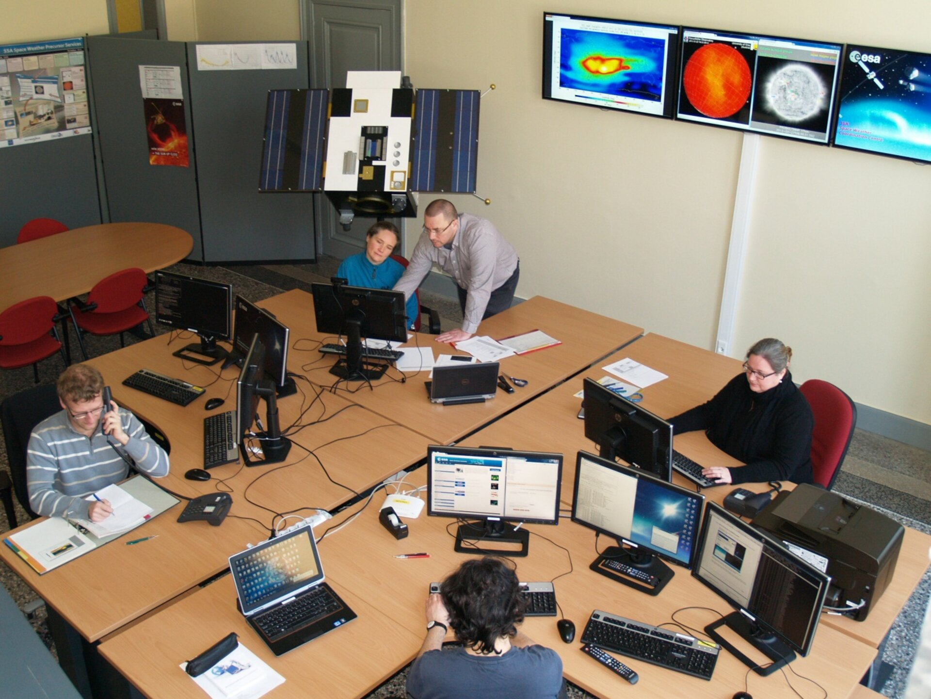 ESA's SSA Space Weather Coordination Centre, Space Pole, Brussels