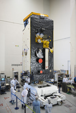 Alphasat satellite at Intespace