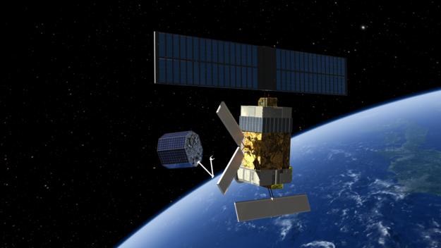 ESA concept for active debris deorbit mission