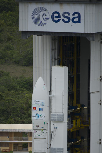 Fully assembled Vega VV02 on pad