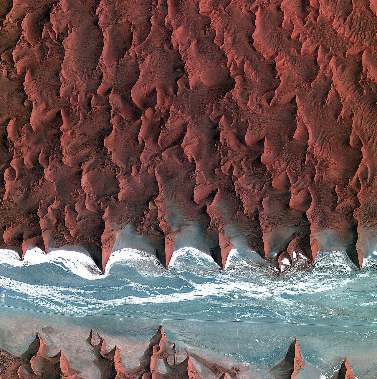 Earth from Space: Namib Desert by the European Space Agency