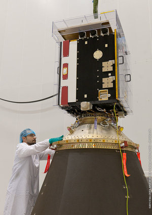 Proba-V launch preparations continue at CSG