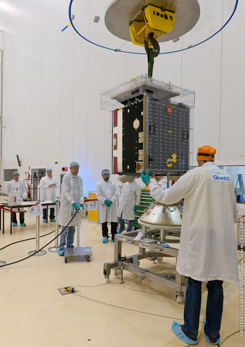 Proba-V launch preparations underway