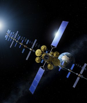 Satellites in geostationary orbit