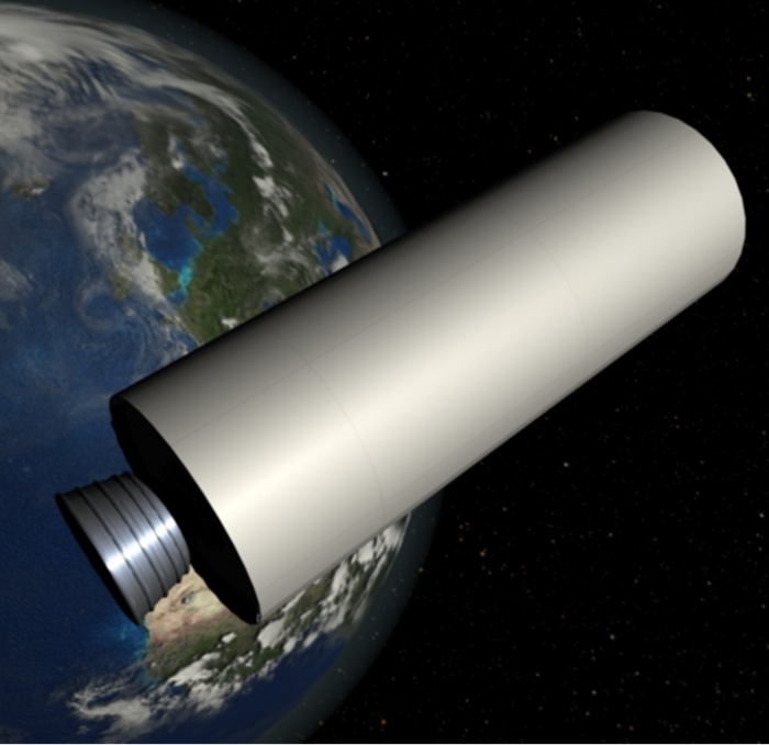 Debris objects in orbit include spent upper stages
