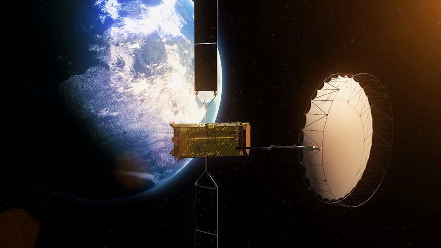 Alphasat artist impression
