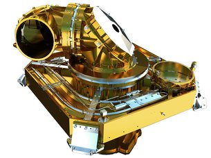 Alphasat's laser communications terminal. Credit: TESAT, DLR