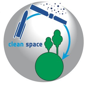 Clean Space logo