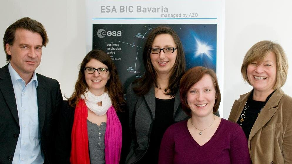 ESA BIC Bavaria team