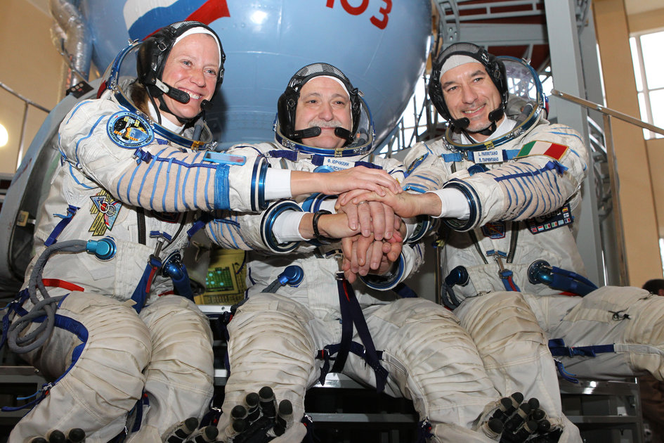 Expedition 36/37 crew members
