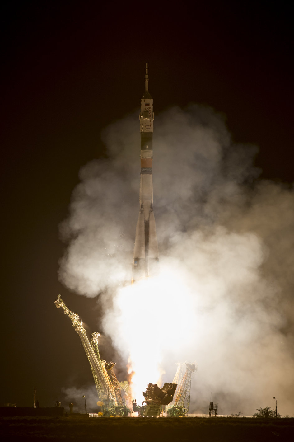 Expedition 36 Crew Launches to Space Station