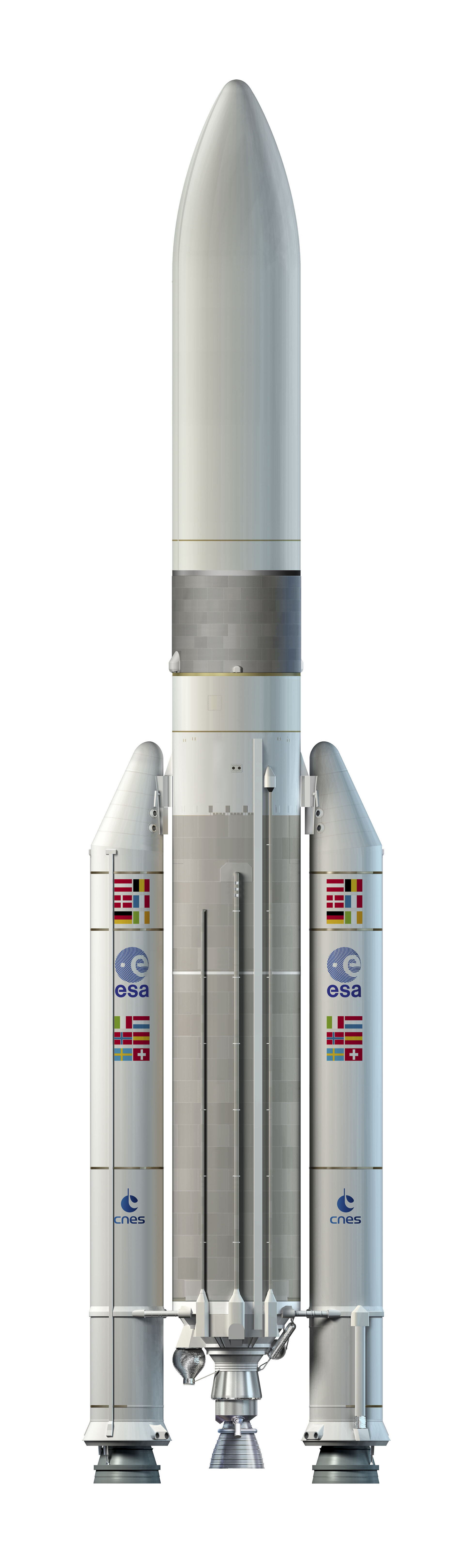 Artist's view of the Adapted Ariane 5 ME