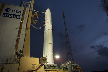 Ariane 5 flight VA213 and ATV Albert Einstein ready for launch