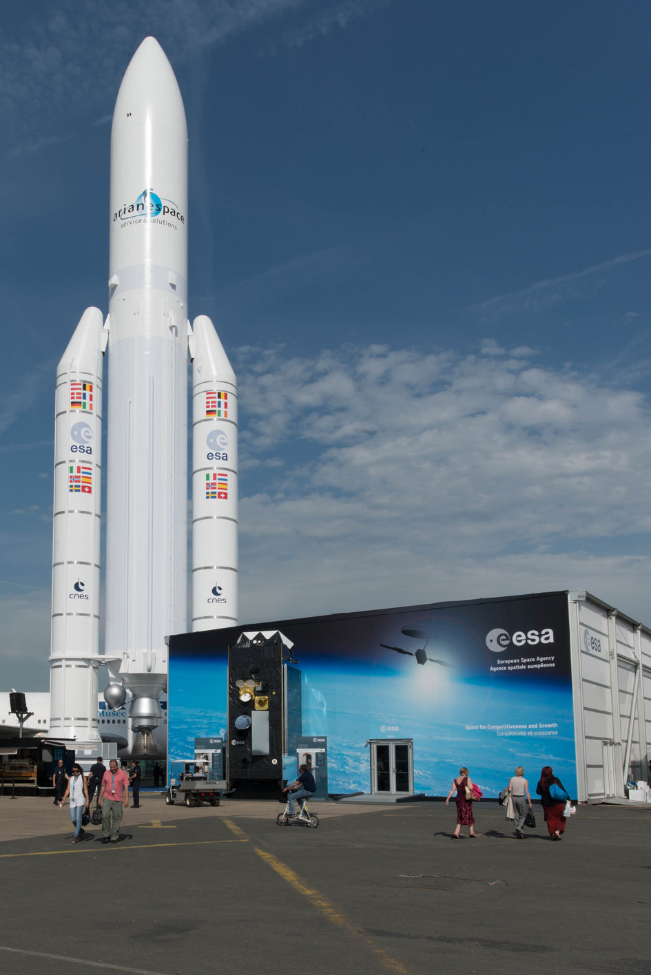 ESA pavilion at the Paris Air & Space Show