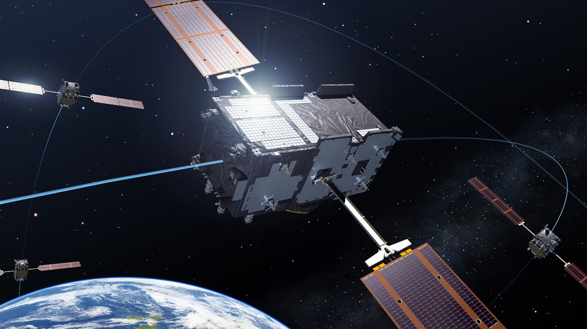 Europe's Galileo satnav system