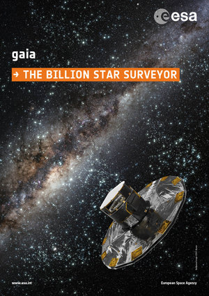 Gaia mission poster