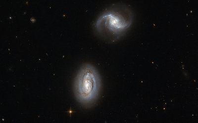 Inseparable galactic twins