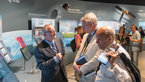 [10/12] Jean-Jacques Dordain presents the ESA pavilion to Carl Bildt