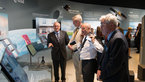 [20/36] Jean-Jacques Dordain presents the ESA pavilion to Carl Bildt