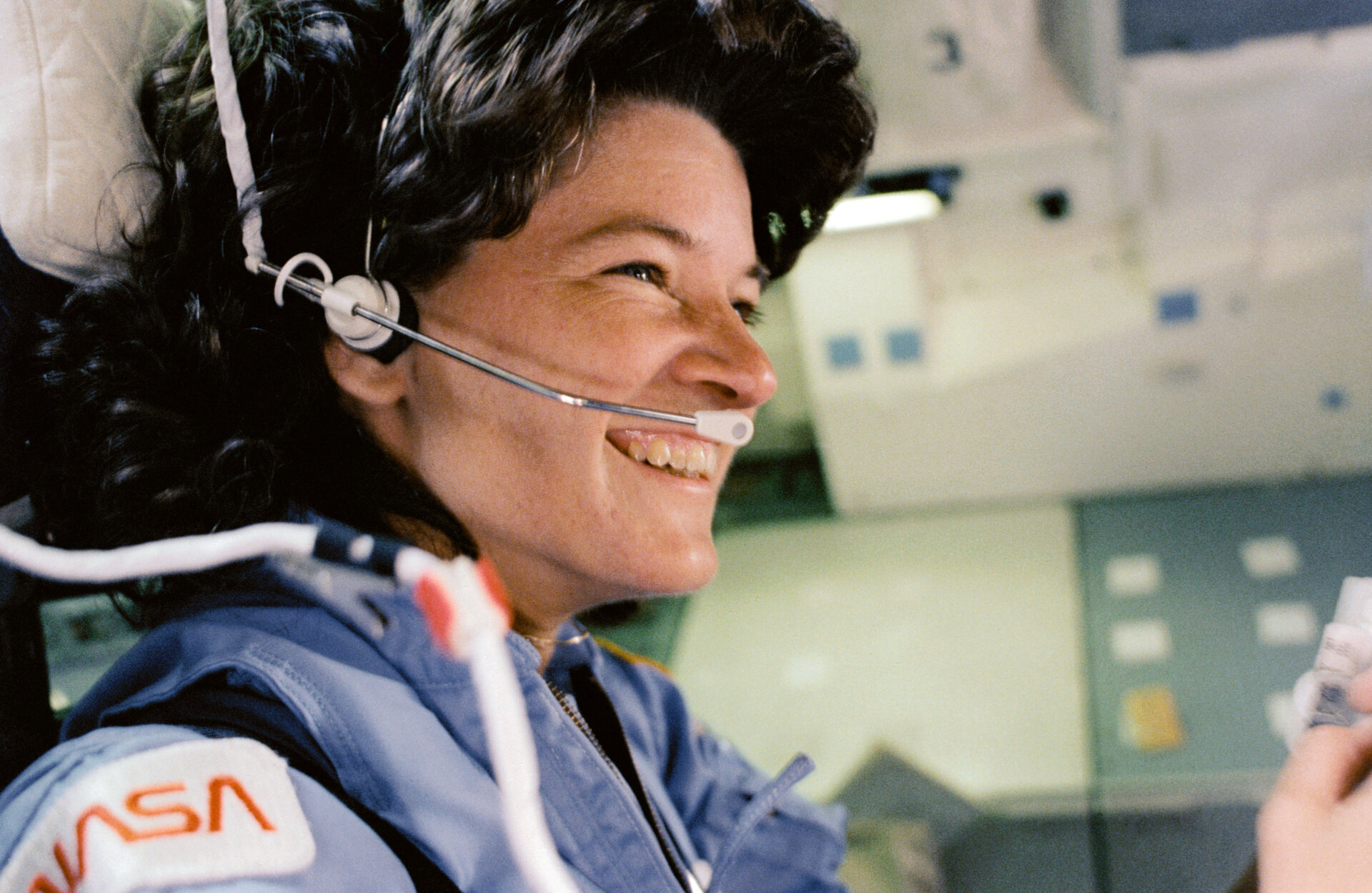 NASA astronaut Sally Ride, first American woman in space