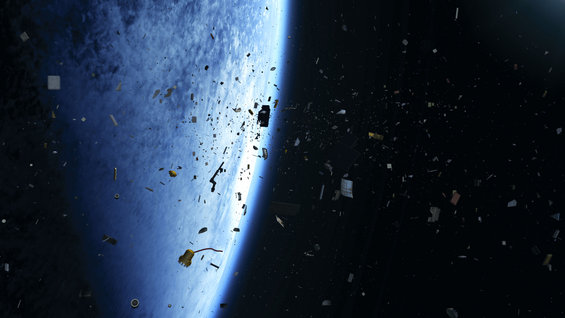 Limiting space debris