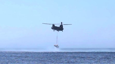 Successful splashdown for the Intermediate eXperimental Vehicle (IXV)