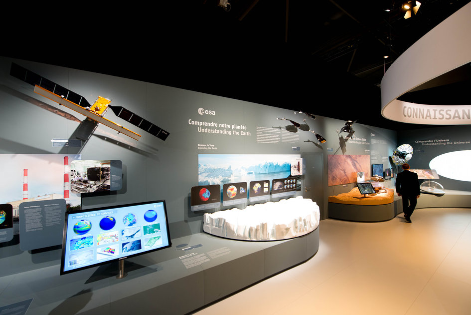 The ESA's Pavilion at the Paris Air and Space Show