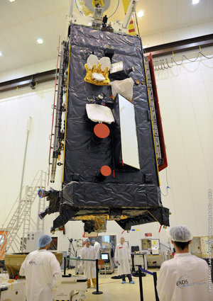 Alphasat TDPs in Kourou