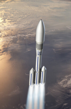 Artist's view of Ariane 6