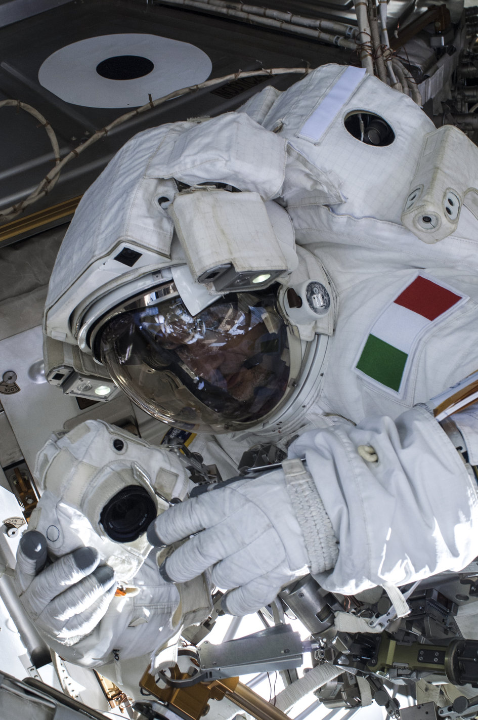 Luca Parmitano 2nd Spacewalk