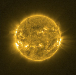 SWAP instrument on board ESA's Proba-2 sees the Sun, 30 July 2013
